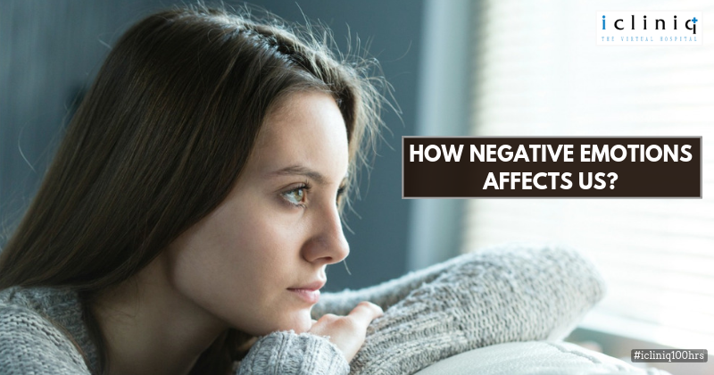 How Negative Emotions Affect Us?