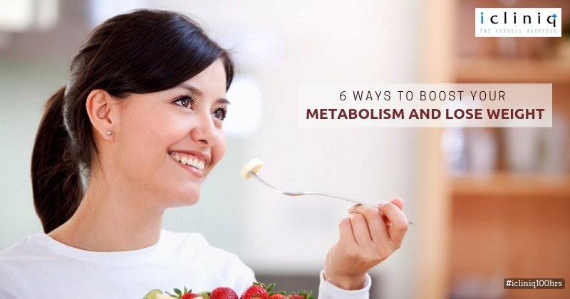 6 Ways to Boost Your Metabolism and Lose Weight