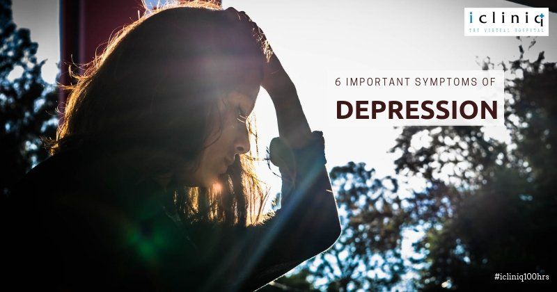 6 Important Symptoms of Depression