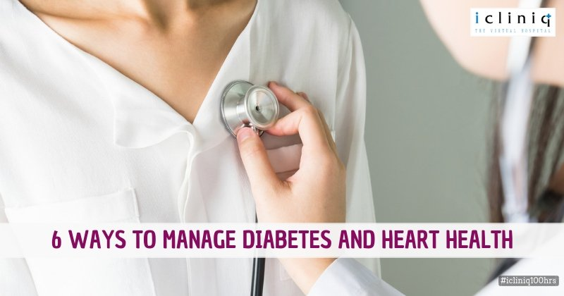 6 Ways to Manage Diabetes and Heart Health